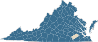 Map of Sussex County